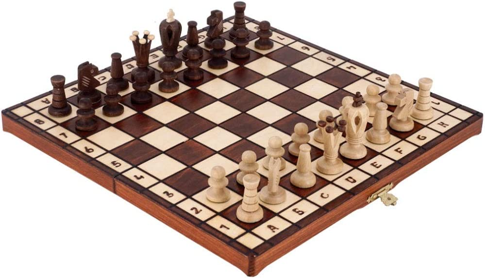 LOMJK Chess Set Foldable with Internal Wooden Max store 72% OFF Storage