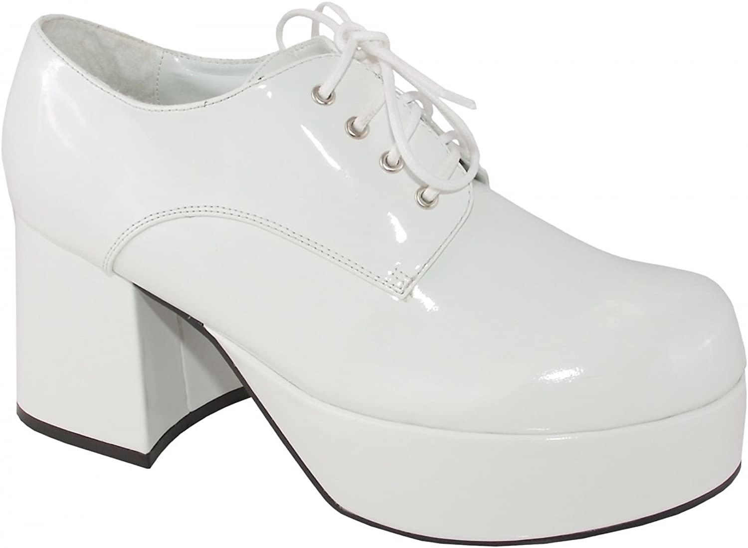 Ellie shoes 33632 White Pimp shoes Adult Size Medium 10-11