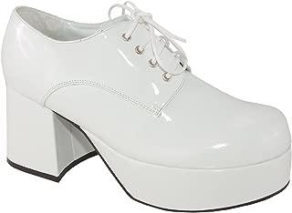 Pimp Adult Costume Shoes White - Large