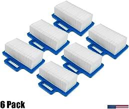 (6-Packs) Air Filter for Wacker Neuson Bs50 Bs60 Rammer 5200003062