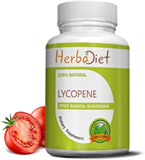 Lycopene 50mg Capsules - Natural Prostate Health Support Supplements for Men - Immune Support, Antioxidant, Vision Support...