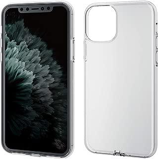 エレコム iPhone 11 Pro ケース ソフト 弾力性+頑丈 [ゴムのような弾力性で衝撃を吸収] 細部までフィットする極み設計 クリア PM-A19BUCTCR