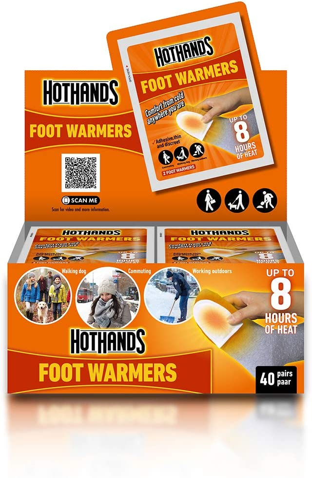 Hot Hands Instant Foot Warmers. Box pairs of 40 Japan Maker New HeatMax Discount is also underway by
