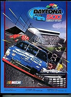 DAYTONA 500 NASCAR PROGRAM-1997-39th ANNUAL-EARNHARDT-JEFF GORDON-WALTRIP-vg