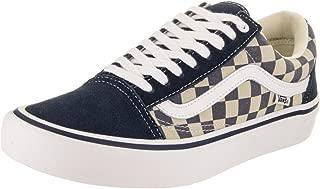 Old Skool Pro Checkerboard/Dress Blues/White Men's Skate Shoes Size 13