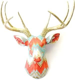Best fabric deer head wall mount pattern Reviews
