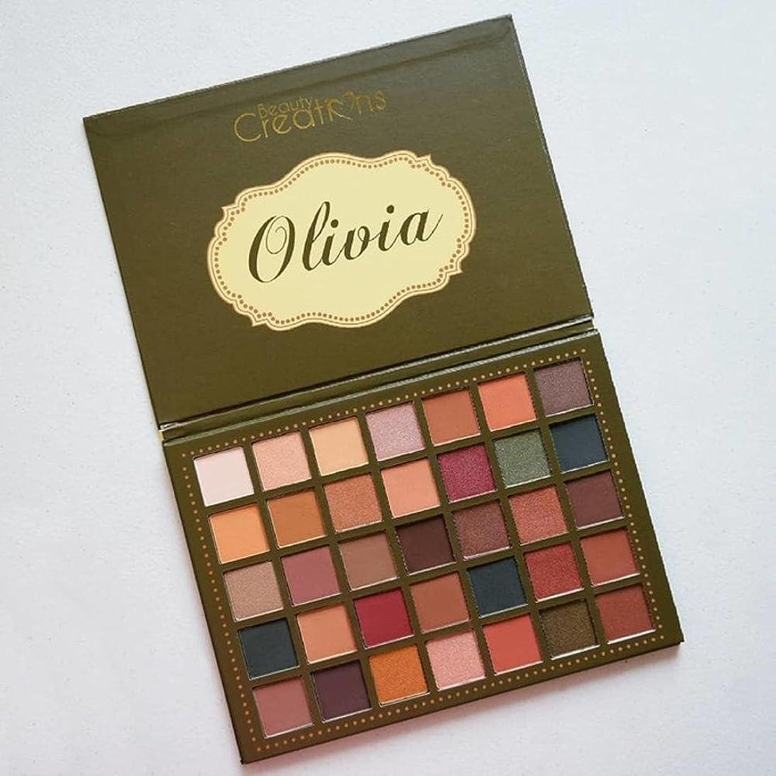 見込みそう爆弾BEAUTY CREATIONS 35 Color Palette - Olivia (並行輸入品)