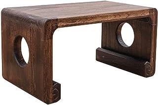 JFFFFWI Table Basse en Bois Massif école Ordinateur Table d'étude Musique Salle de Classe Piano Table à Manger Table à Man...