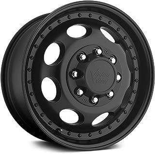 Vision 181H Hauler Dually 19.5x6.75 8x165.1 -143mm Matte Black Wheel Rim