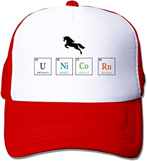 Cool Unicorn of Periodic Table Adult Baseball Trucker Hat Cap