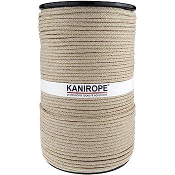 Kanirope/® Hanfseil HEMPTWIST /ø8mm 10m 4-litzig gedreht