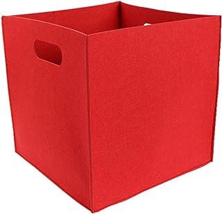 Panier de Rangement de Couleur Unie boîte de Rangement Pliable de Grande capacité vêtements Divers Panier de Rangement Mai...