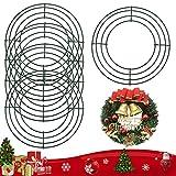 BUZIFU Bases para Coronas Decorativas, 5 unidades, Corona de Alambre, Bases para Coronas d...