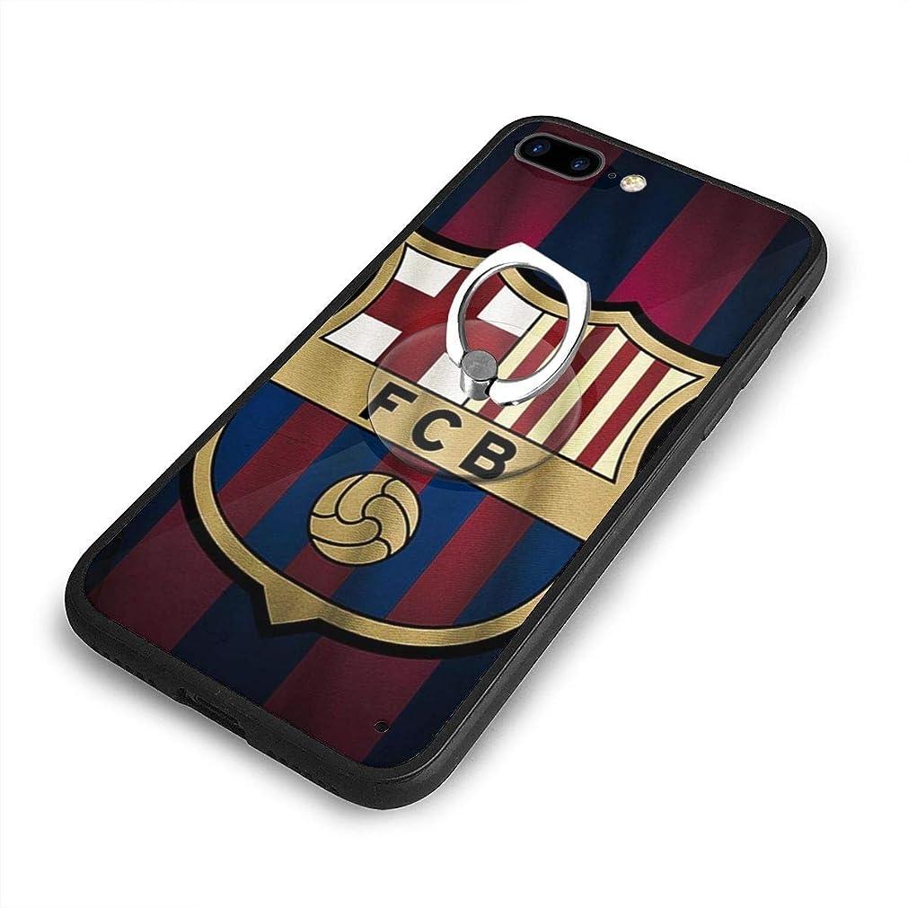 マニアック一般的なフェッチバルセロナ FC BarcelonaiPhone 7/8 Plusケースリングブラケット 携帯カバー 創意デザイン軽量 傷つけ防止 360°回転ブラケット 携帯ケース PC 衝撃防止 全面保護