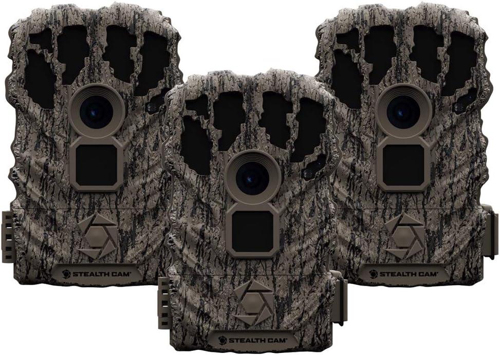 Stealth Cam BT12 12MP Trail Camera 3 Pack-Grey