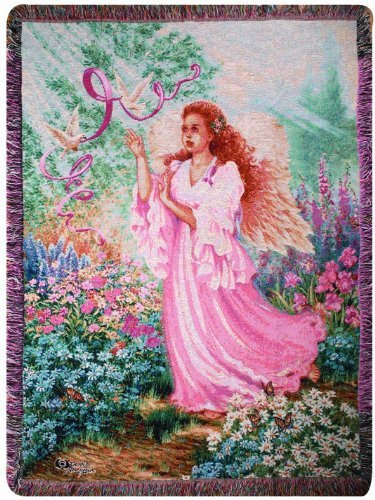 Manual Inspirational Collection Tapestry Throw, Dawn of Hope X Dona Gelsinger, 50 X 60-Inch by Manual Woodworker
