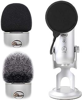 2pcs Professional Microphone Furry Windscreen Foam Wind...