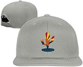 Unisex Arizona State Flower Saguaro Baseball Sport Snakpack Hats Multi Color Black