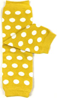 Baby Polka Dot and Solid Color Leg Warmers
