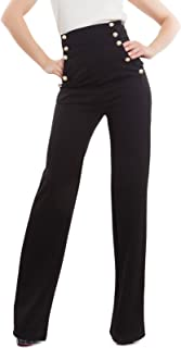 Toocool - Pantaloni Donna Campana Vita Alta Zampa Elefante Elasticizzati Hot Nuovi AS-531