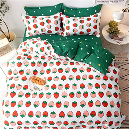 Phosphor Duvet cover 3-piece set double microfiber bedding quilt cover (sheet quilt cover and pillowcase)