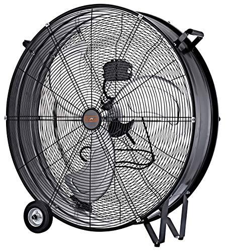 VINCO Ventilatore Industriale Da Pavimento Terra Metallo 70626 140w Dm 75