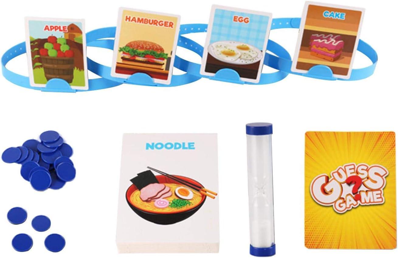 Ishine Headbandz Juego para niños Guess Who I Am Family Game Juego de mesa divertido para niños, divertidos juguetes interactivos para familia, regalos para niños