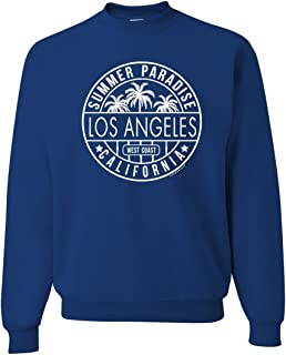Los Angeles California West Coast Crewneck Sweatshirt