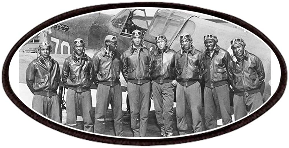CafePress Tuskegee Airmen Patches Patch Ultra-Cheap Deals 4x2in Novelty A Printed Popularity