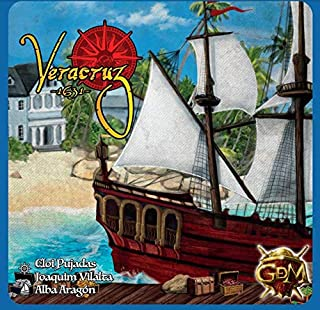 GM Game Veracruz 1631 Board and Cards Set, Blue (Gdm Gdm129) (PS4//xbox_one/)