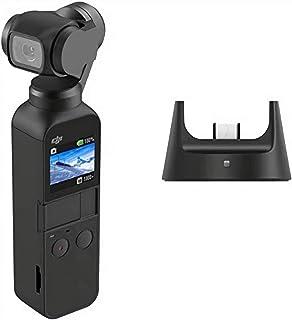 DJI Osmo Pocket Prime Combo - 3-assige Gimbalstabilisator met Accessoirekit en DJI Care Refresh, Geïntegreerde Camera 12 M...