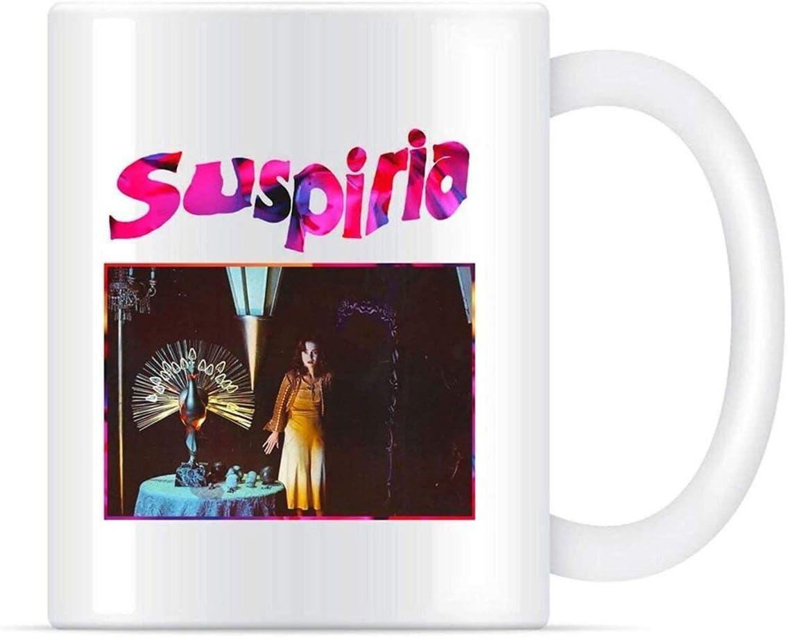NA Suspiria Movie Suspiria Horror Film Taza de café para Mujeres y Hombres Tazas de té Taza con asa, Taza de Viaje de café