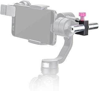 HolaFoto Universal Adjustable Gimbal Counterweight Applied to add Lens Accessories for DJI Osmo Mobile 2, Zhiyun Smooth 4 3 Q, Feiyu SPG, Evo and Other 3-Axis Gimbal Like Zhiyun Crane 2, Crane V2