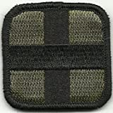 Medic Cross Tactical Patch - Olive & Black by Gadsden and Culpeper