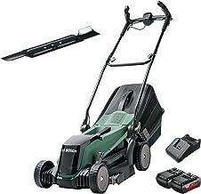 Bosch Cordless Lawnmower EasyRotak 36-550 (36 Volt, 2 x Battery 2.0 Ah , Cutting Width: 37 cm, Lawns up to 550 m2, in Cart...