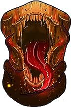 Tyrannosaurus Wrex Seamless Bandana Face Mask- Raves Music Festival Multipurpose