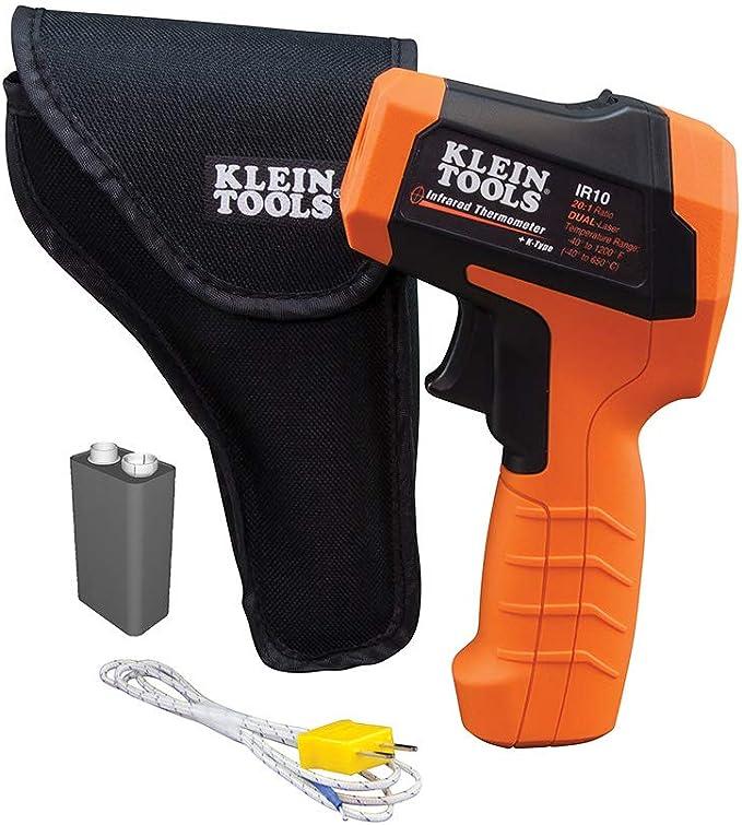 Klein Tools IR10 Infrared Thermometer - K-Type Probe