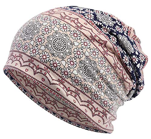 Qunson Women's Baggy Slouchy Beanie Chemo Hat Cap Scarf