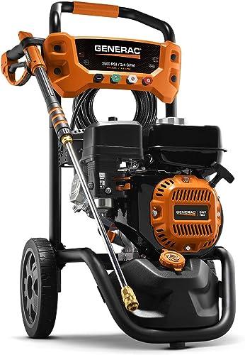 discount Generac 7954 Pressure Washer 2900PSI, wholesale One lowest Size, Black, Orange online