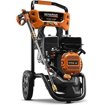 Generac 7954 Pressure Washer 2900PSI, One Size, Black, Orange