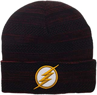 10aae4cddf69c Flash Knit Hat DC Comics Beanie Flash Beanie DC Comics Hat Flash Hat