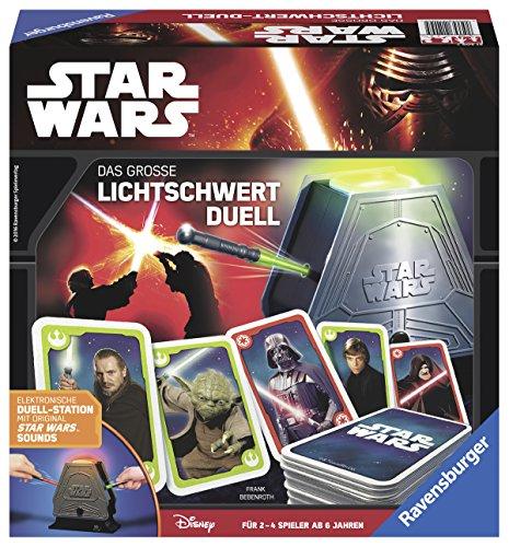 Ravensburger Spiele 21209 - Star Wars: das große Lichtschwert Duell, Aktions- und Geschicklichkeitsspiel