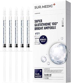 SUR.MEDIC+ SUPER GLUTATHIONE 100TM BRIGHT AMPOULE 0.35 oz / 10g