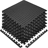 Sivan Health and Fitness Puzzle Exercise Mat EVA Foam Interlocking Tiles—Protective Flooring for...