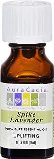 Aura Cacia Aromatherapy Lavender Spike Essential Oil 1/2 Oz. Bottle