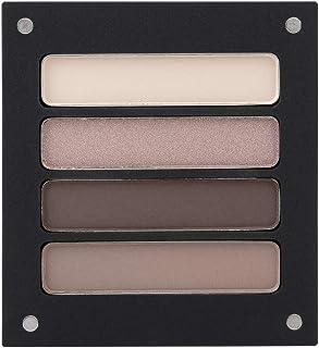 Jolly Dim Makeup Chocolate Eyeshadow Set, set di ombretti, 4 colori, matte & shine, trucco occhi per tutti i giorni