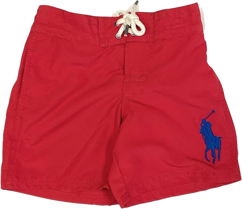 Polo Ralph Lauren Boys Swim New Shipping Super Special SALE held Free Trunk 4T Size Boxer Kids 4 Swimwear
