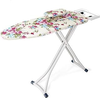 Table à repasser Table de repassage de table, planche à repasser en métal pliable à la maison Chambre à coucher Salle de b...