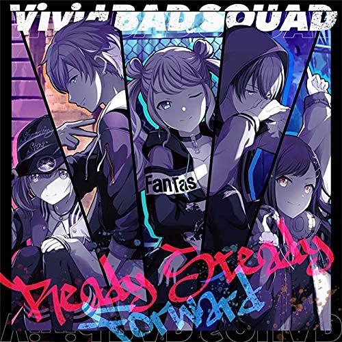 【連動特典対象/初回生産分】 Ready Steady/Forward CD Vivid BAD SQUAD プロセカ 初回生産分Vivid BAD SQUADトレーディングカード1枚(全4種)