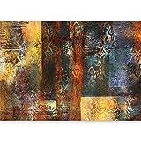 murando - XXL Fototapete Ornament 500x280 cm - Größe Format - Vlies Tapete - Moderne Wanddeko - Design Tapete - Wandtapete - Wand Dekoration - Abstrakt Ornament - wie gemalt f-A-0473-a-b